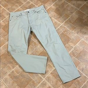 PD&C skinny light wash jeans size men's 34/30
